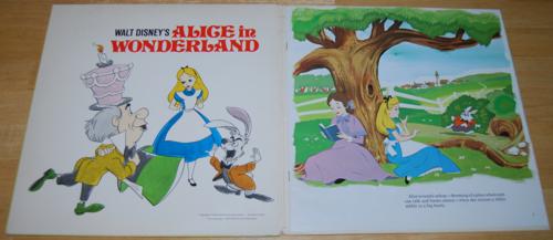 Alice in wonderland disney vinyl lp 2