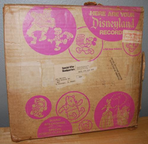 Vintage disney vinyl lot 1