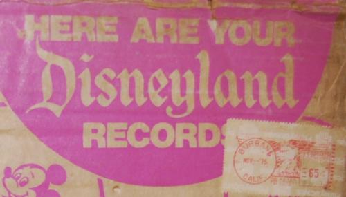 Vintage disney vinyl lot 3