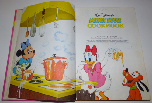 Walt disney's mickey mouse cook book2