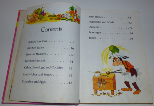 Walt disney's mickey mouse cook book3