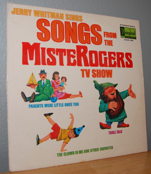 Songs from the mister rogers tv show vintage vinyl lp