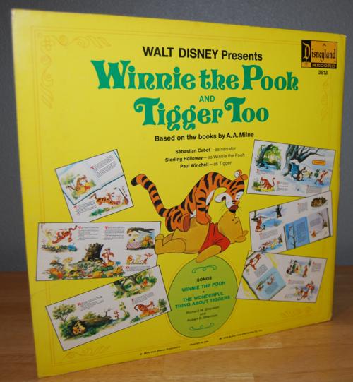Disney winnie the pooh vinyl lp x