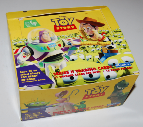 Toy story skybox trading cards