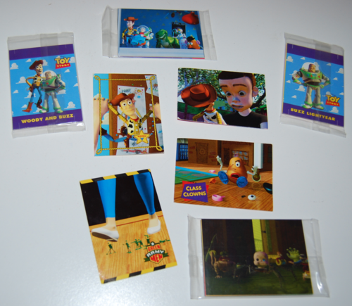 Toy story skybox trading cards 2