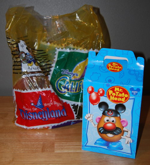 Mr potatohead box disney california adventures 2