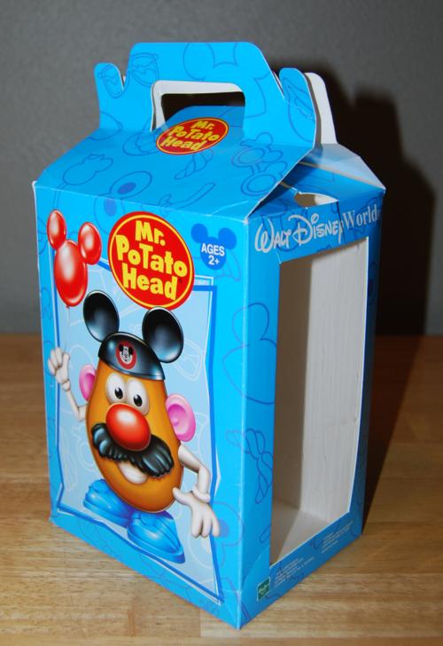 Mr potatohead box disney california adventures 1