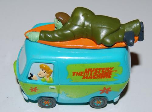 Scooby doo mystery machine toy 1999 2