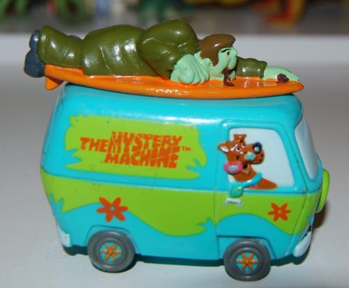 Scooby doo mystery machine toy 1999