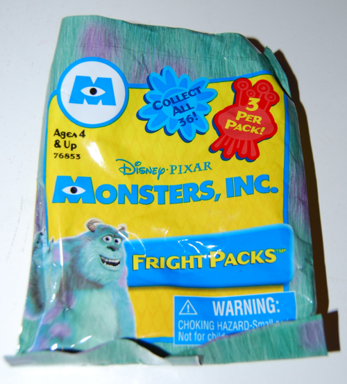 Monsters inc fright pack
