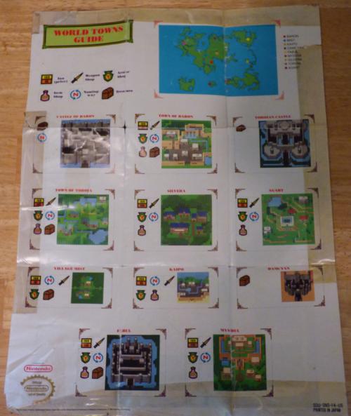 Final fantasy 2 maps x