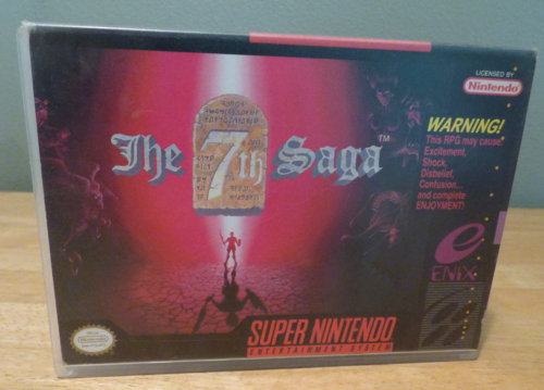 The 7th saga snes