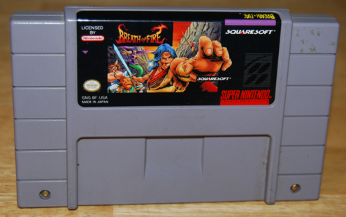 Breath of fire snes