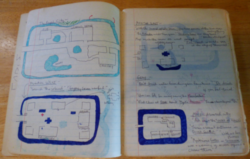 Cat's game journal 3