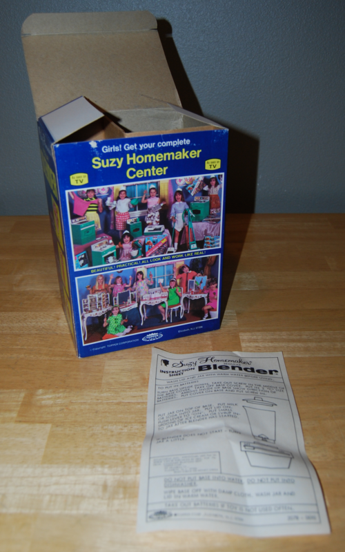 Suzy homemaker blender toy 9