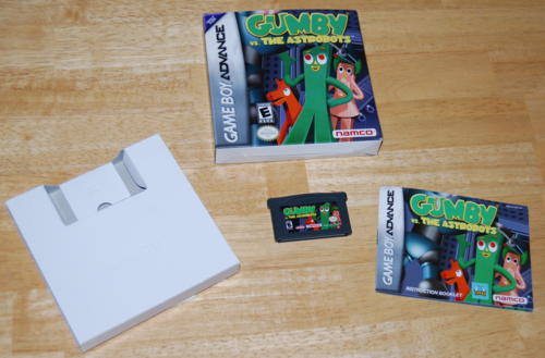 Gumby vs the astrobots gameboy advance game