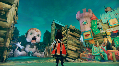Alice madness returns dollhouse