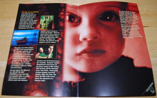 City of lost children dvd 1
