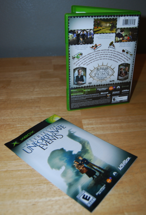 Lemony snicket's a series of unfortunate events xbox 360 1
