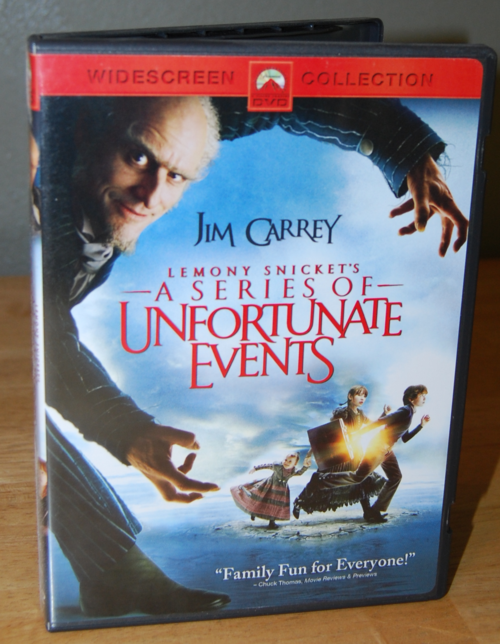 Lemony snickett's series of unfortunate events dvd