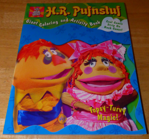 Hr pufnstuf coloring book