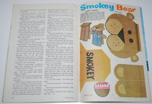 Jack & jill magazine august 1966 14