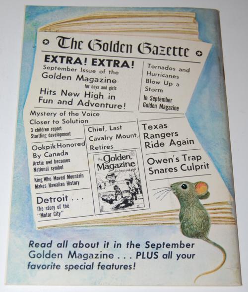 Golden magazine august 1967 x