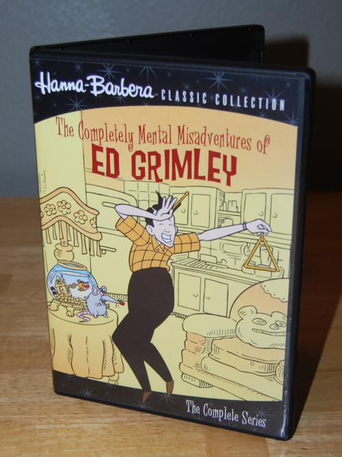 The completely mental misadventures of ed grimley dvd