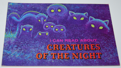 I can read about creatures of the night