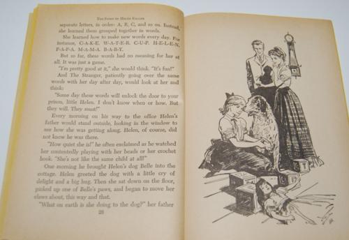 The story of helen keller scholastic book 4