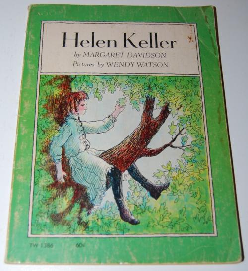 Helen keller scholastic book