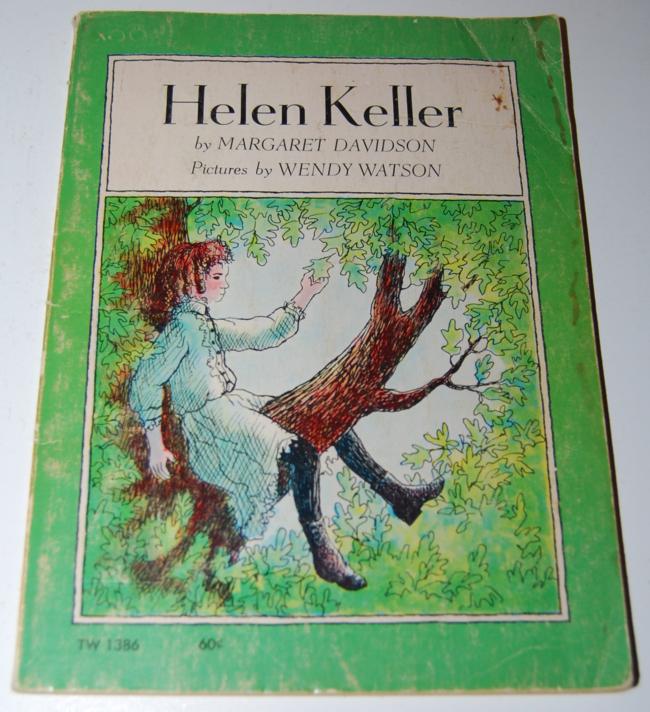 scholastic book week ~ helen keller