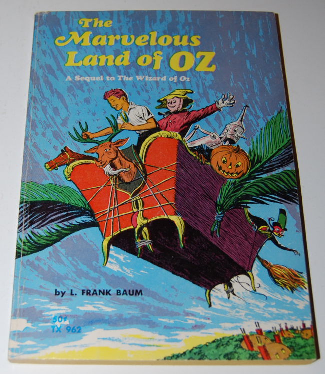 scholastic book week ~ the marvelous land of oz