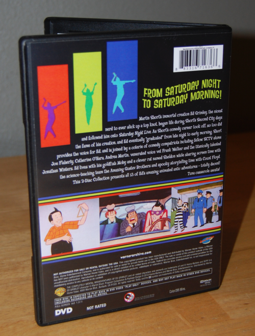 The completely mental misadventures of ed grimley dvd x