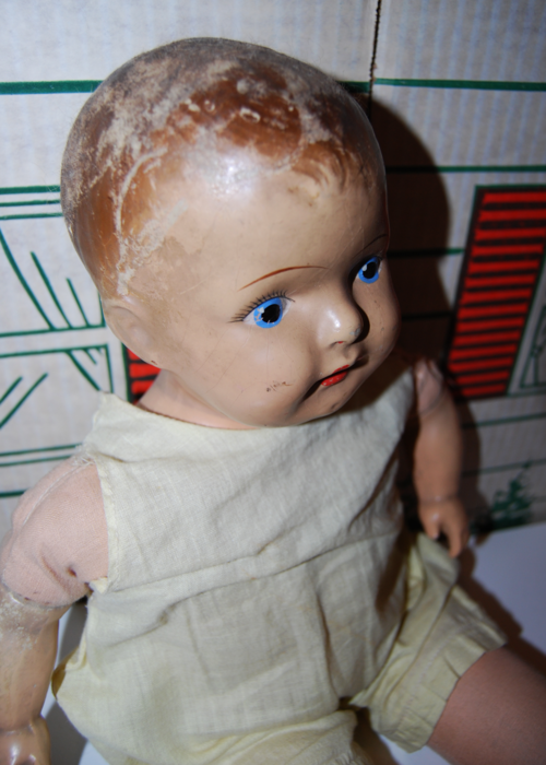 Antique 19 inch am company doll 2