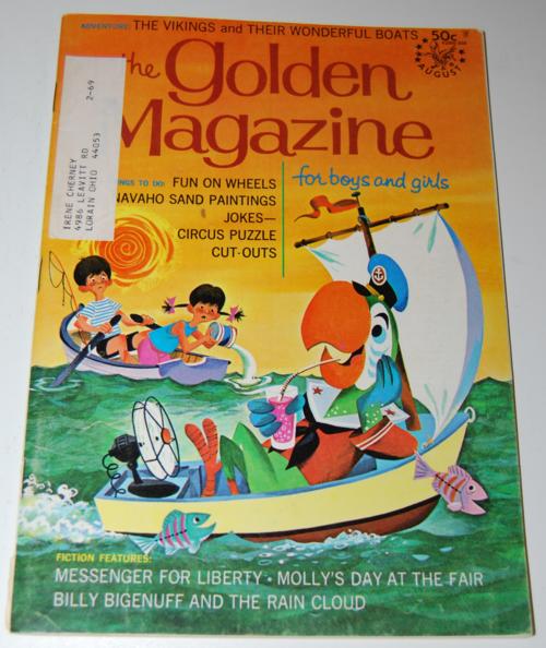 Golden magazine august 1968