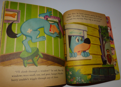 Little golden book huckleberry hound 2
