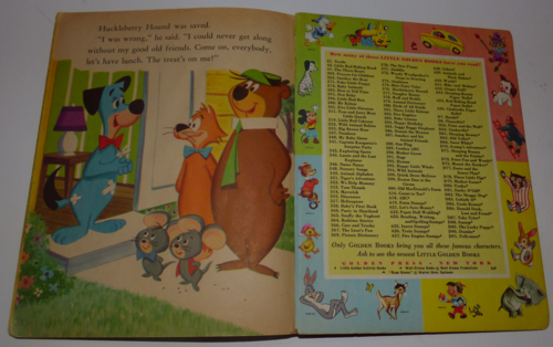 Little golden book huckleberry hound 3