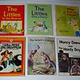 vintage kid books