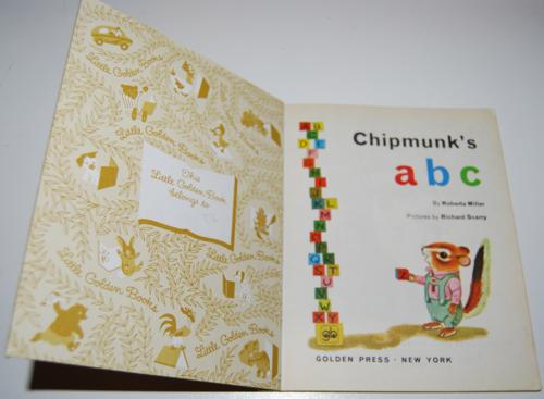 Lgb chipmunks abc 1