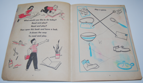 Whitman read color play book 2