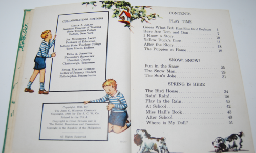 I know a secret 1947 vintage reader 2