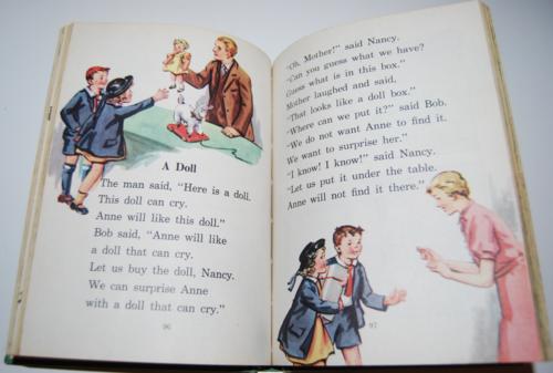 I know a secret 1947 vintage reader 8