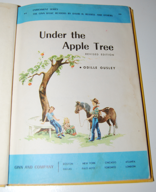 Ginn under the apple tree vintage reader 1