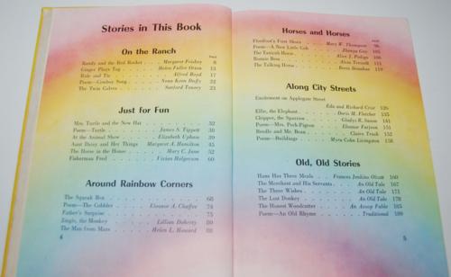 Ginn rainbows & ranches vintage reader 3
