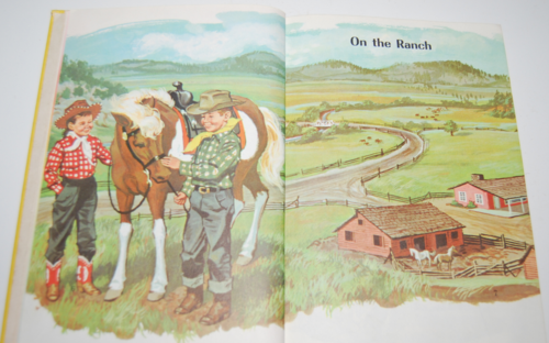 Ginn rainbows & ranches vintage reader 4