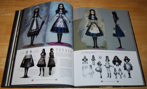 The art of alice madness returns book 4
