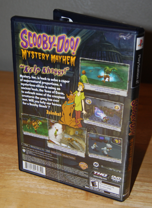 Scooby doo mystery mayhem ps2 x