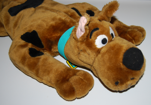 Scooby doo talking plush