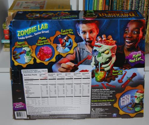 Doctor dreadful zombie lab 2
